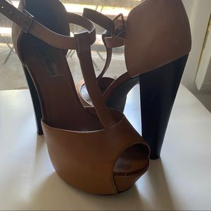 Steve Madden brown high heels